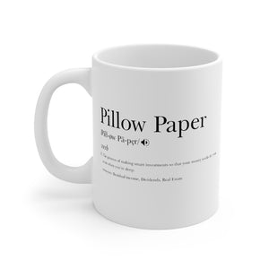 Pillow Paper Mug 11oz