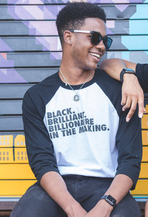 III B HOME RUN UNISEX (W/ BLACK FONT) - Melanin Money