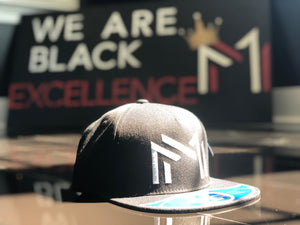 DOUBLE MM SNAPBACK HAT - Melanin Money