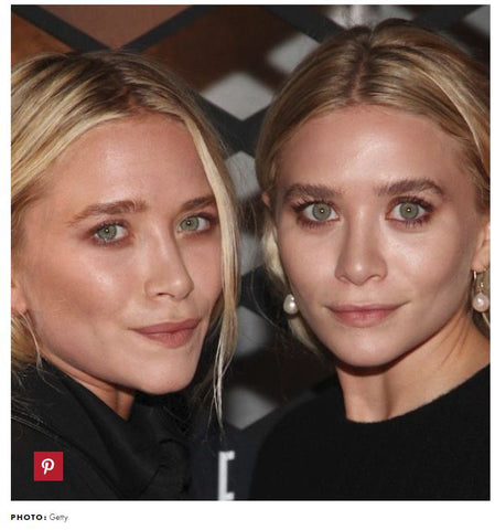 Ashley and Mary-Kate Olsen - Natural Eyebrows