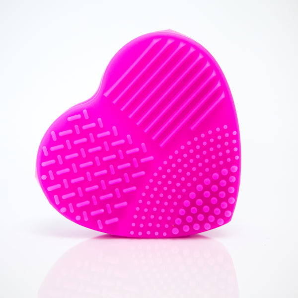 Pink Heart Make Up Brush Cleaner