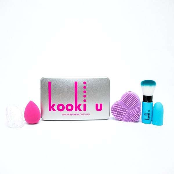 Brush and Blend Make Up Gift Set from Kooki U