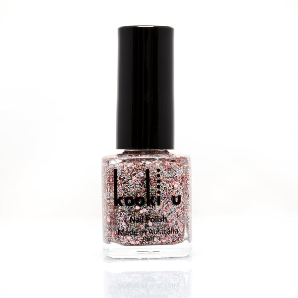nail-polish-glitter Rose Gold Glitter