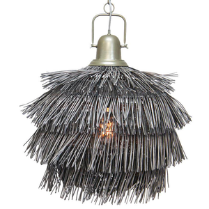 SAKURA PENDANT SHADE - GREY WASH 66CMD