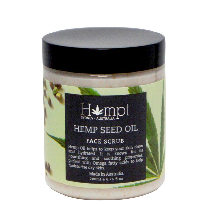 HEMPT HEMP FACE SCRUB 200ML