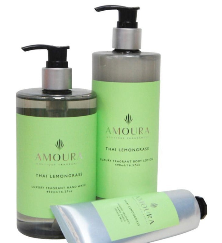 AMOURA BODY LOTION - THAI LEMONGRASS 490ML