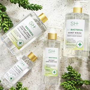 SH+ ANTIBACTERIAL HAND WASH - GREEN TEA AND CUCUMBER 500ML