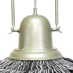 SAKURA PENDANT SHADE - GREY WASH 48CMD
