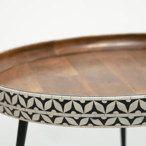 IRON & WOOD COFFEE TABLE