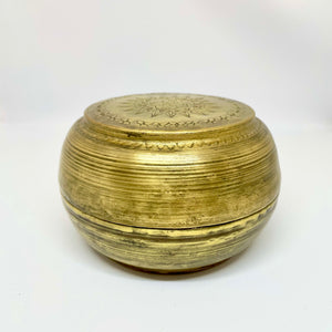 ANTIQUE BRASS BOX - 7X11CMD