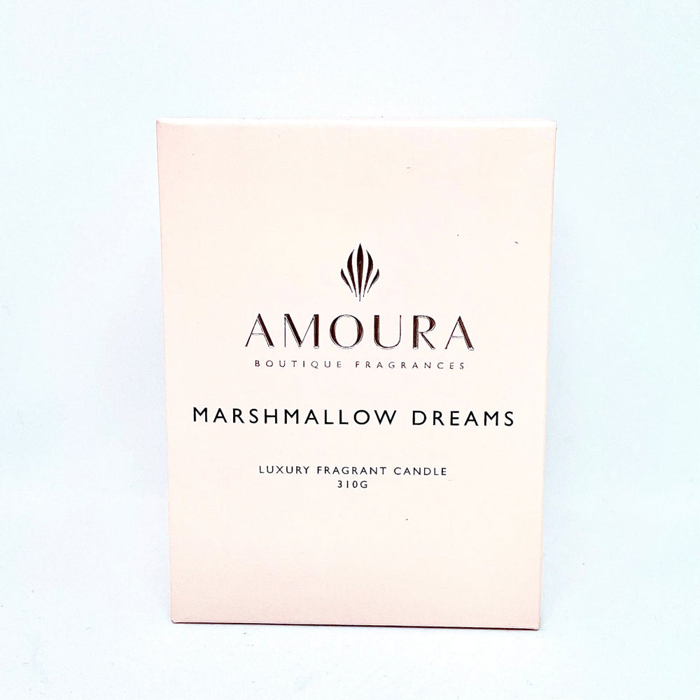 AMOURA LUXURY FRAGRANT CANDLE - MARSHMALLOW DREAMS 310G
