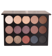 Be Natural- Paleta de Sombras 15 colores