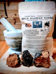Wild Alaskan Chaga Mushroom,  Ground, 56 Grams