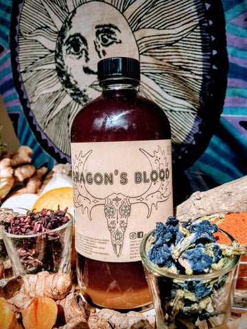 Dragons' Blood Fire Tonic 🐉🔥🍎