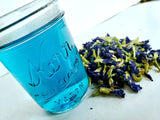 Blue Butterfly Pea Flower Tea, Chocolate Mint Tea Herbal Blend - 20 Grams