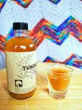 "Apple Cider Vinegar, Tundra Tonic Original Herbal ""Fire-Cider"" - w/ the Mother Infused with 14 Whole Fresh Ingredients. 8oz"