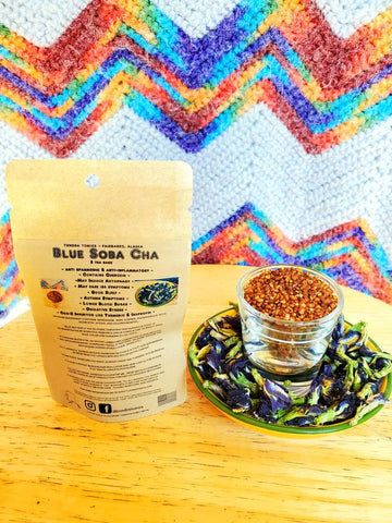 Buckwheat (Roasted Japanese Tea) - Blue Butterfly Tea - Herbal Tea Blend