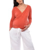 Aster Nursing Top - White POP