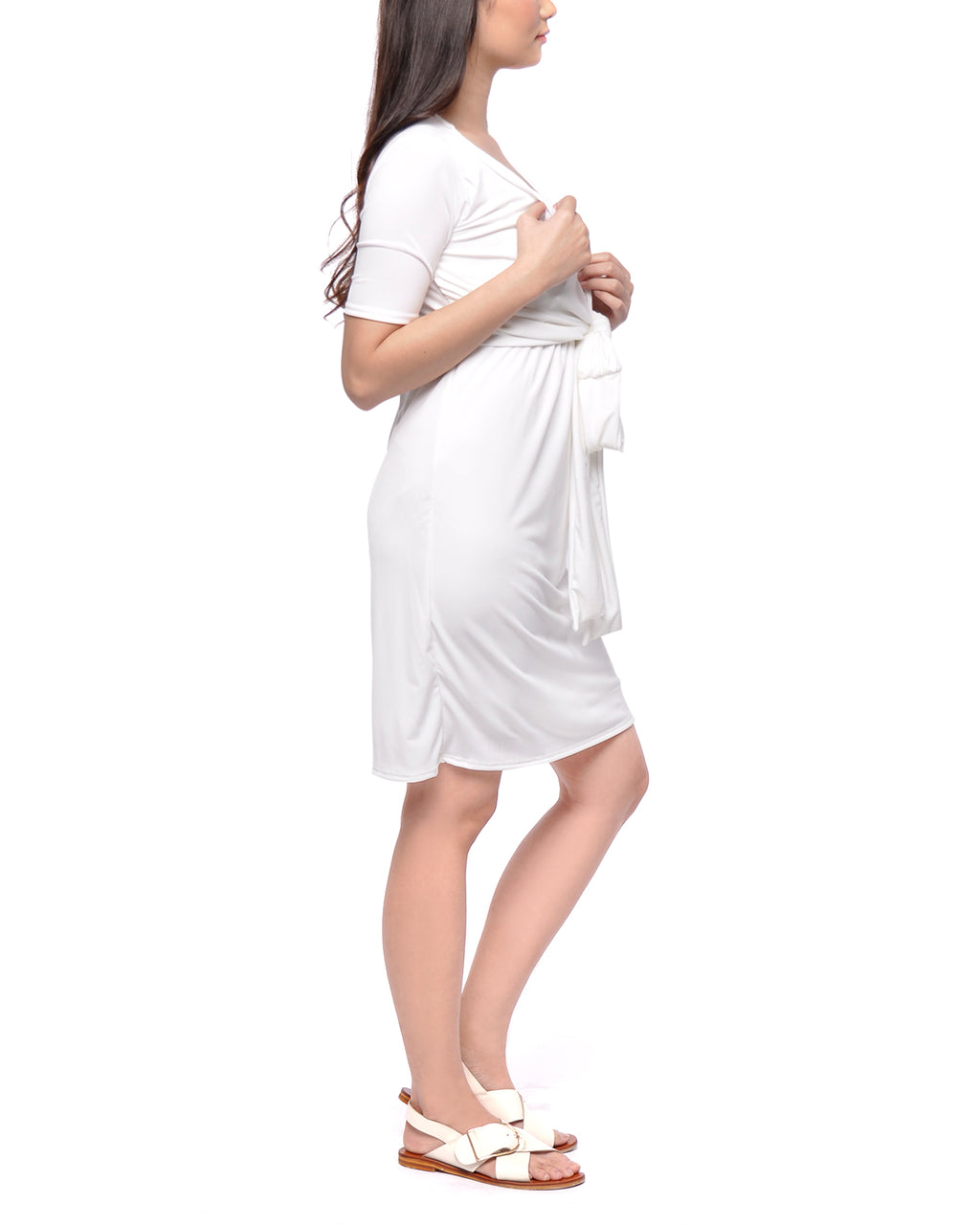Baptismal Ginny Nursing Dress Lined