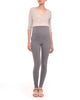 Maternity Leggings Charcoal Gray