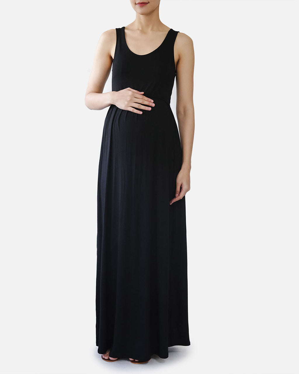 Cecilia Maxi Nursing Dress