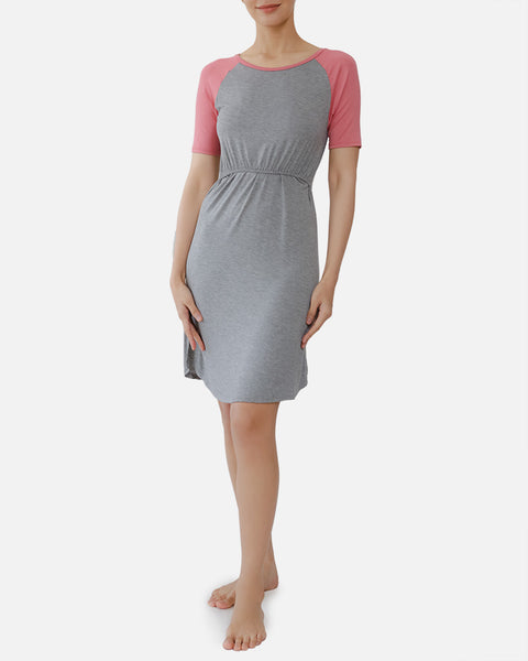 Kelly Nursing Lounge Dress