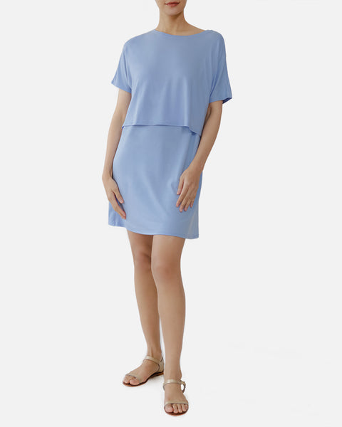 Luna Nursing Lounge Dress