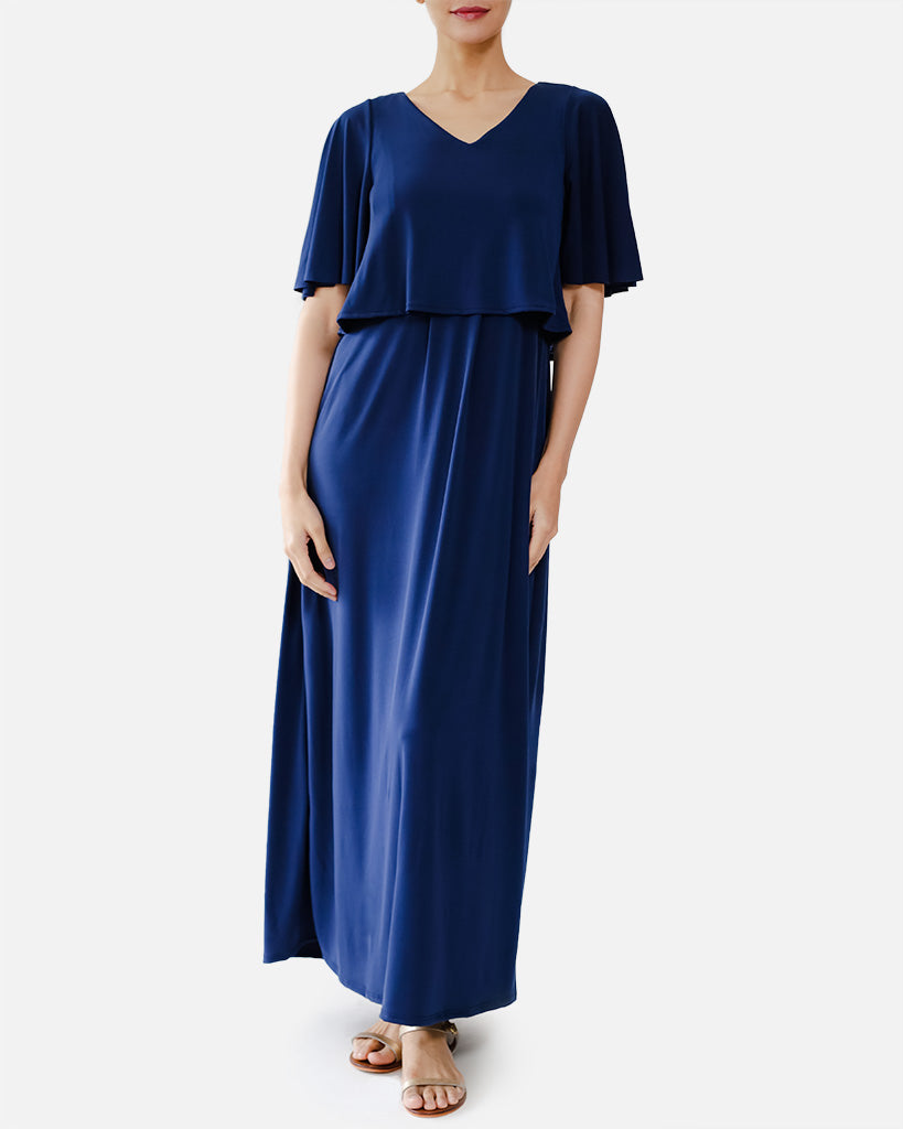 Quinn Maxi Nursing Dress