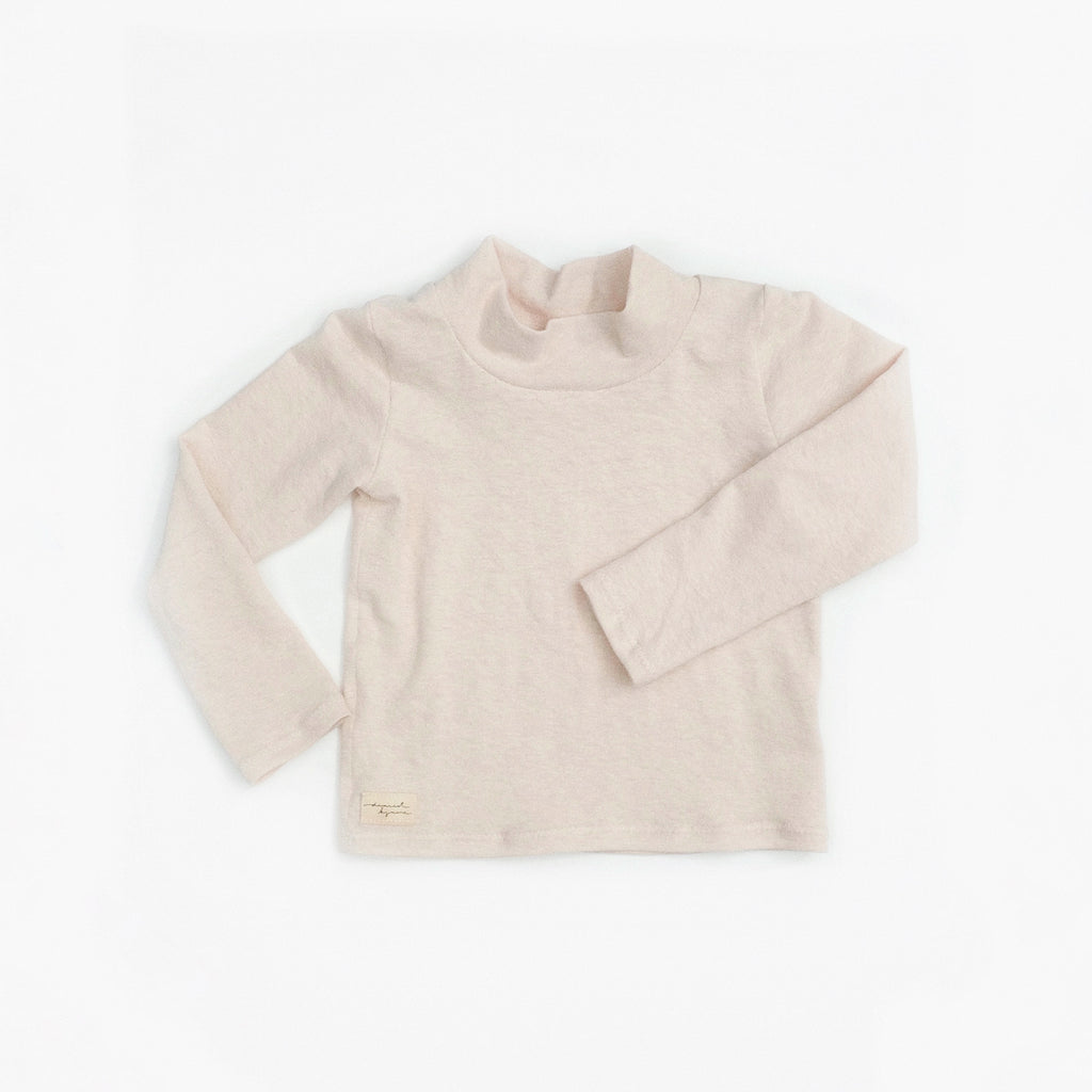 Long Sleeve Mock-Neck Tee