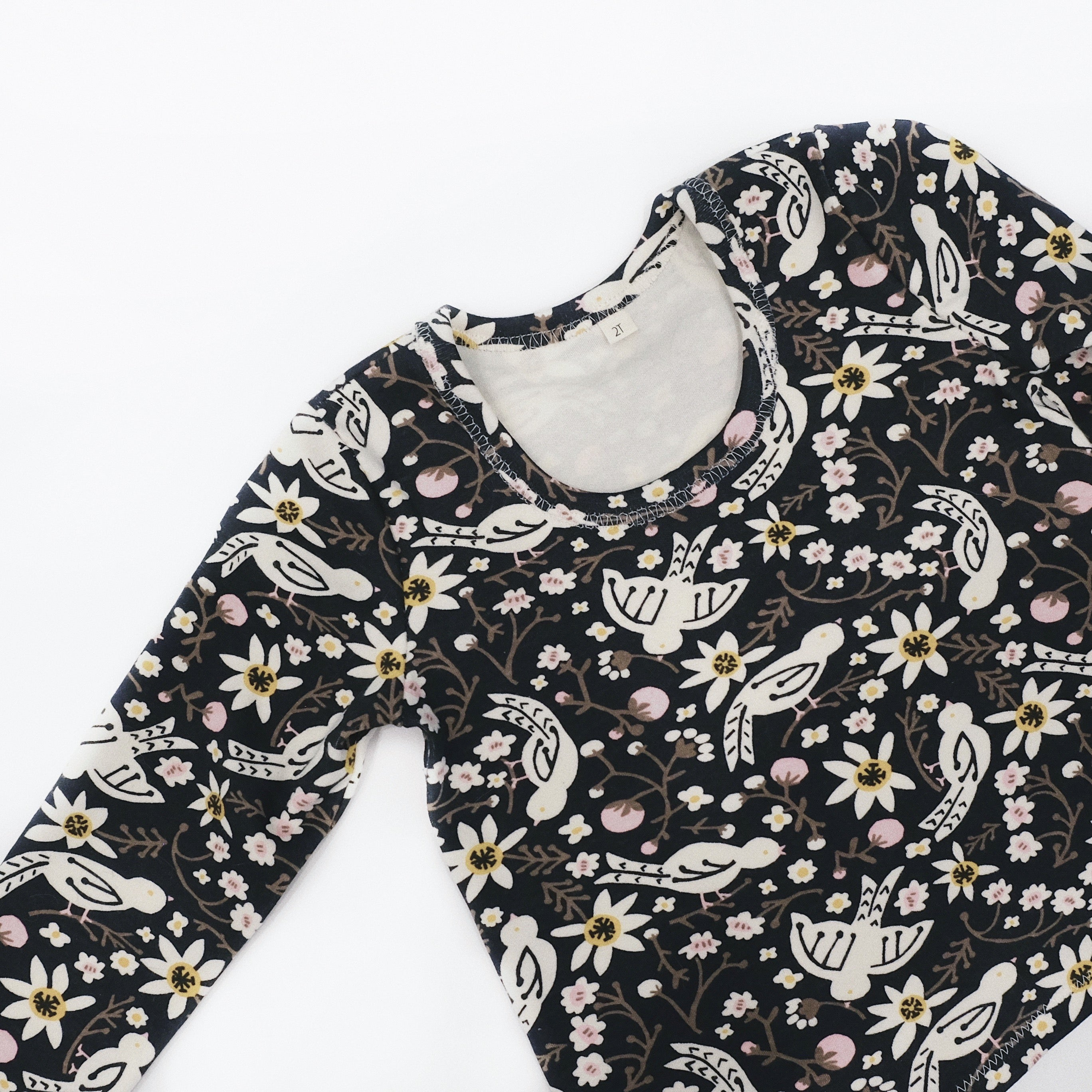 Long Sleeve Printed Tee