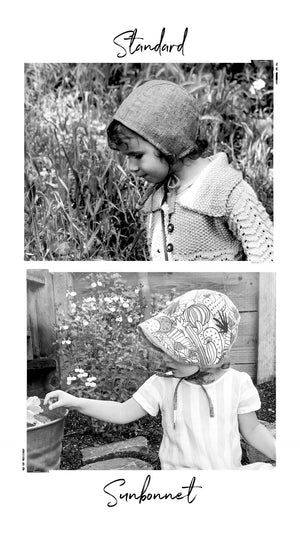 Reversible Strawberry Fields Bonnet