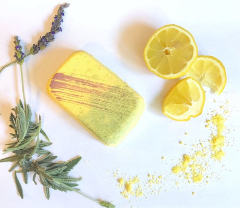 Citron Olea Bath Bomb - Alice and Ivy