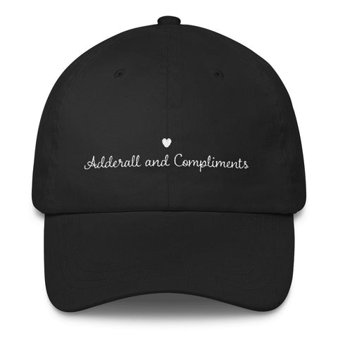 Adderall and Compliments Cap - Alice and Ivy