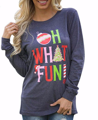 Oh What Fun Long Sleeve - Alice and Ivy