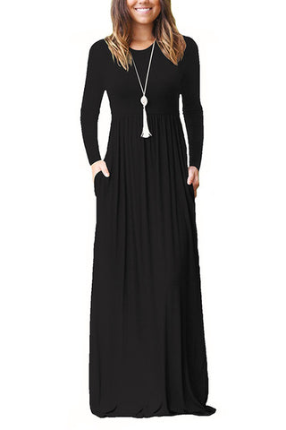 Long Sleeve Maxi - Alice and Ivy