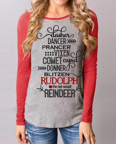 Reindeer Games Long Sleeve - Alice and Ivy