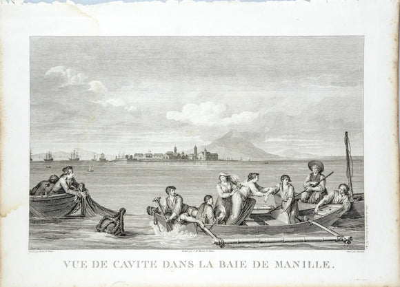 View of Cavite from Manila Bay, 1794
