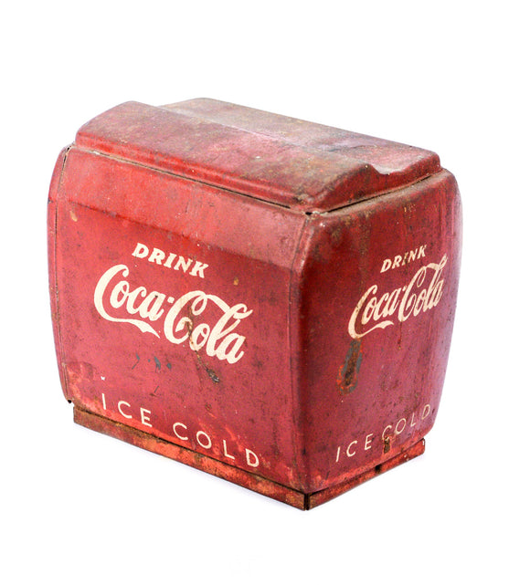 Miniature Coke Cooler Coin Bank