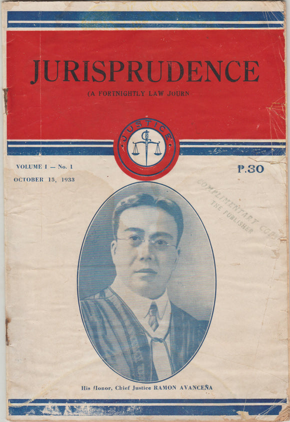 Jurisprudence Journal (A Fortnightly Law Journal)