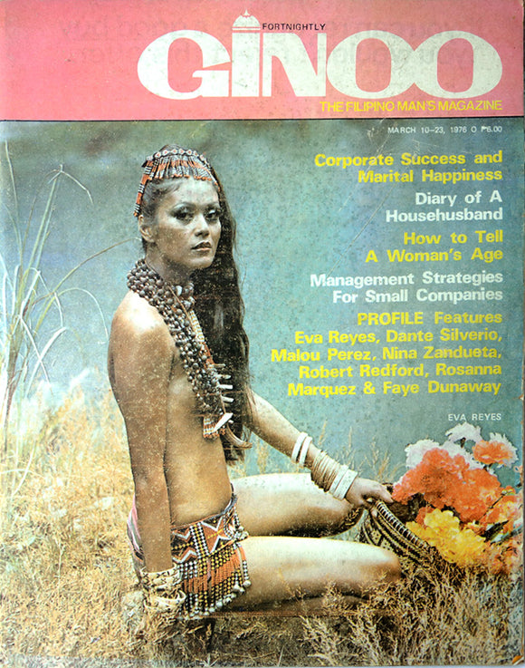 Ginoo Magazine: The Filipino Man's Magazine