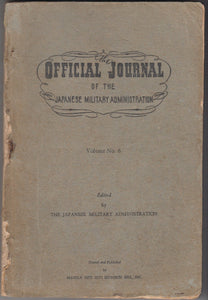 Official Journal of the Japanese Administration Vol 6