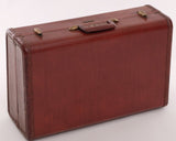 Vintage brown Samsonite luggage