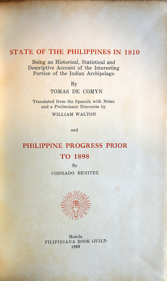 State of the Philippines in 1810