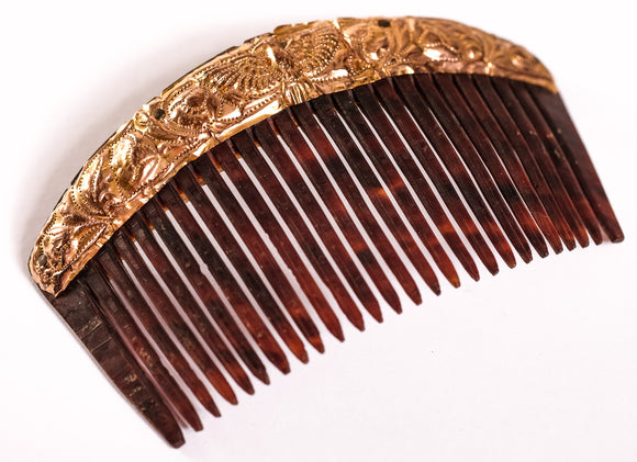 Gold and Horn Comb Payneta 1