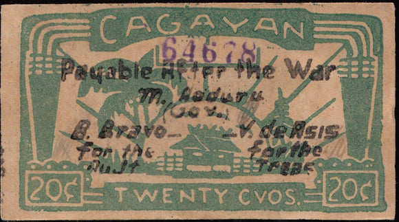 Set of 3 Cagayan Notes
