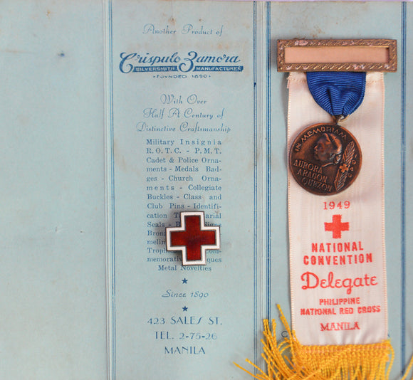 Philippine National Red Cross/Dona Aurora Quezon Medal