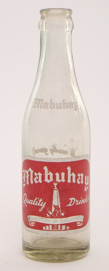 Mabuhay Softdrinks bottle