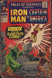 Tales of Suspense Feat. Iron Man And Captain America # 87