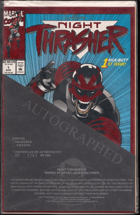 1993 Limited Treasure Editions. Night Trasher #1 (1, 761 of 2, 500)