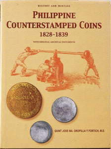 Philippine Counterstamp Coins by Orpilla